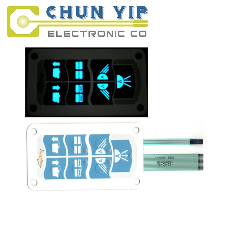 Matt Color Steel Coil Waterproof Electric Rubber Switch -