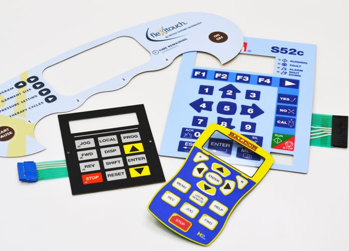 Prepainted Steel Roll Fpc Membrane Switch -