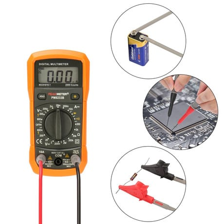 Metal Sheet Supplier Digital Multimeter Test Lead Probe -