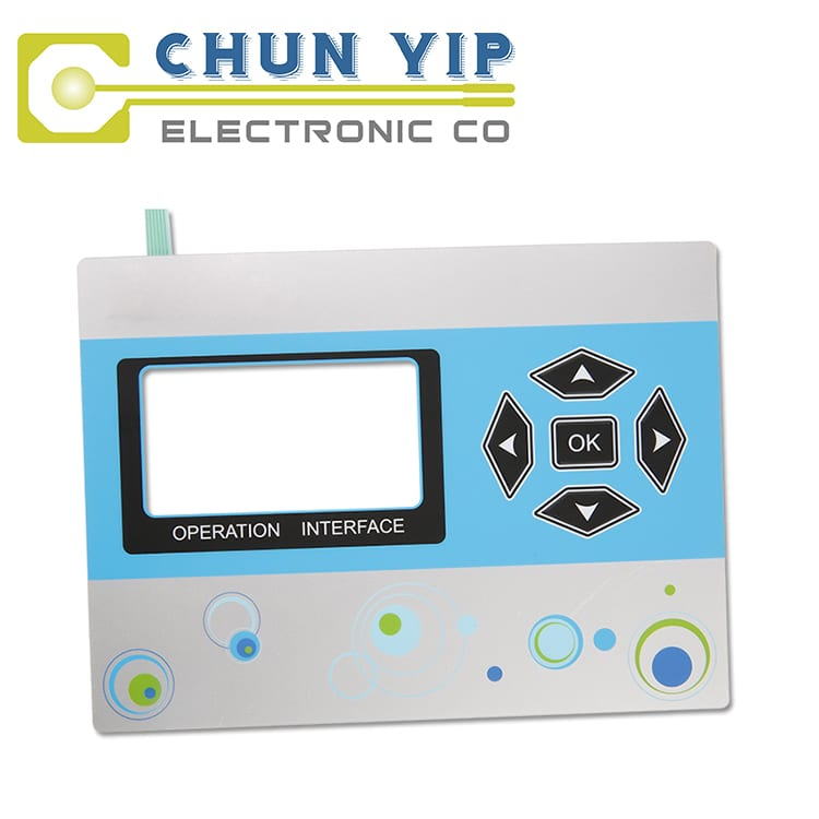 Galvanized Corrugated Sheet 16 Key Membrane Keypad -