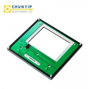 Bare Aluminum Steel Sheet Numerical Panel Membrane Keypad -