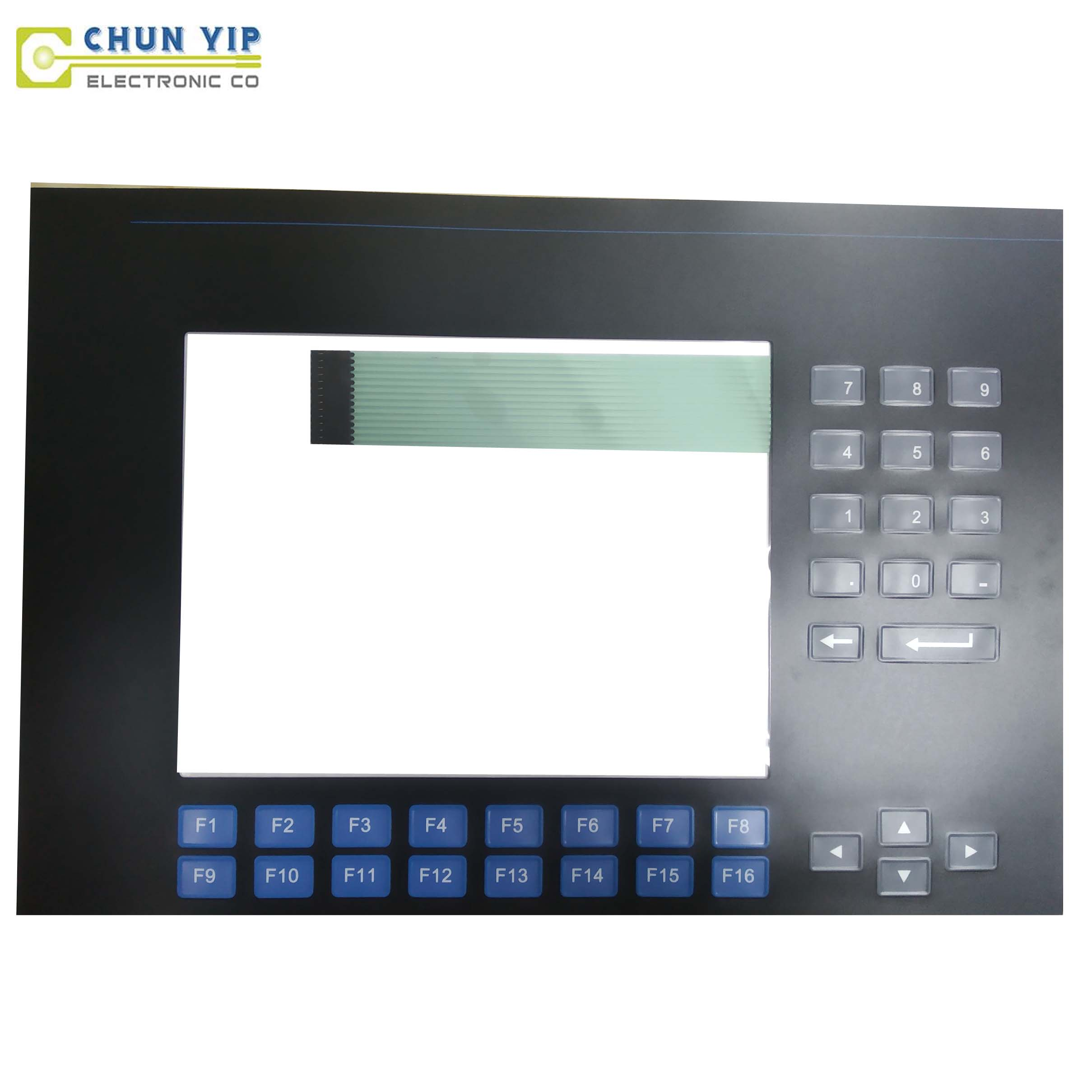 Alu_Zinc Corrugated Sheet Membrane Silicone Rubber Keypad -