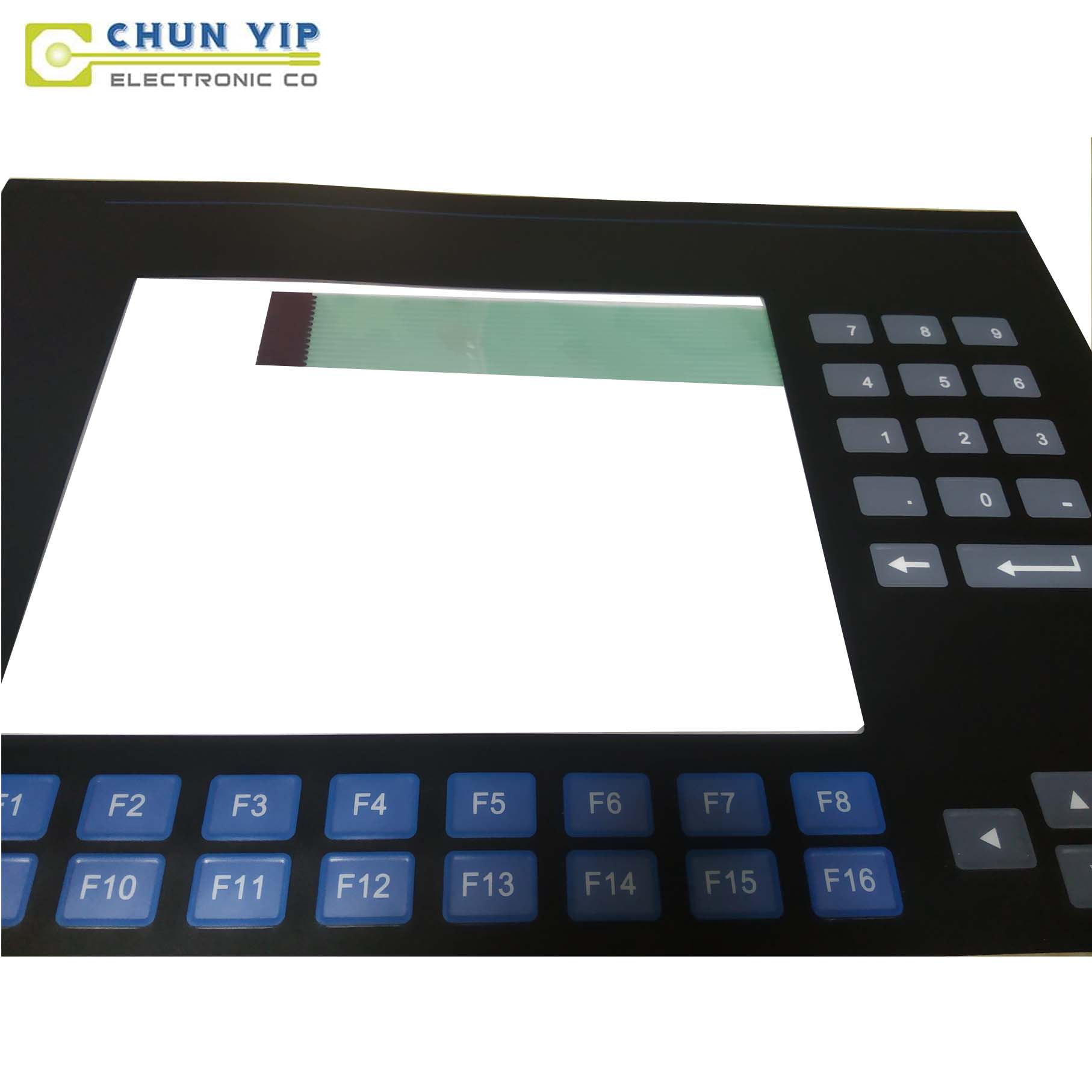 Tin Can Membrane Switch For Fuel Quality Sensor -