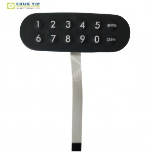 Silicone/Rubber/Metal Membrane Switch