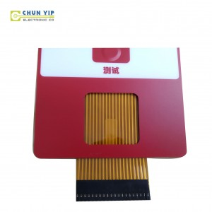 ODM Manufacturer Flat Circuit Lcd Window Panel Membrane Switch Keypad Keyboard For Smart Boiler Control