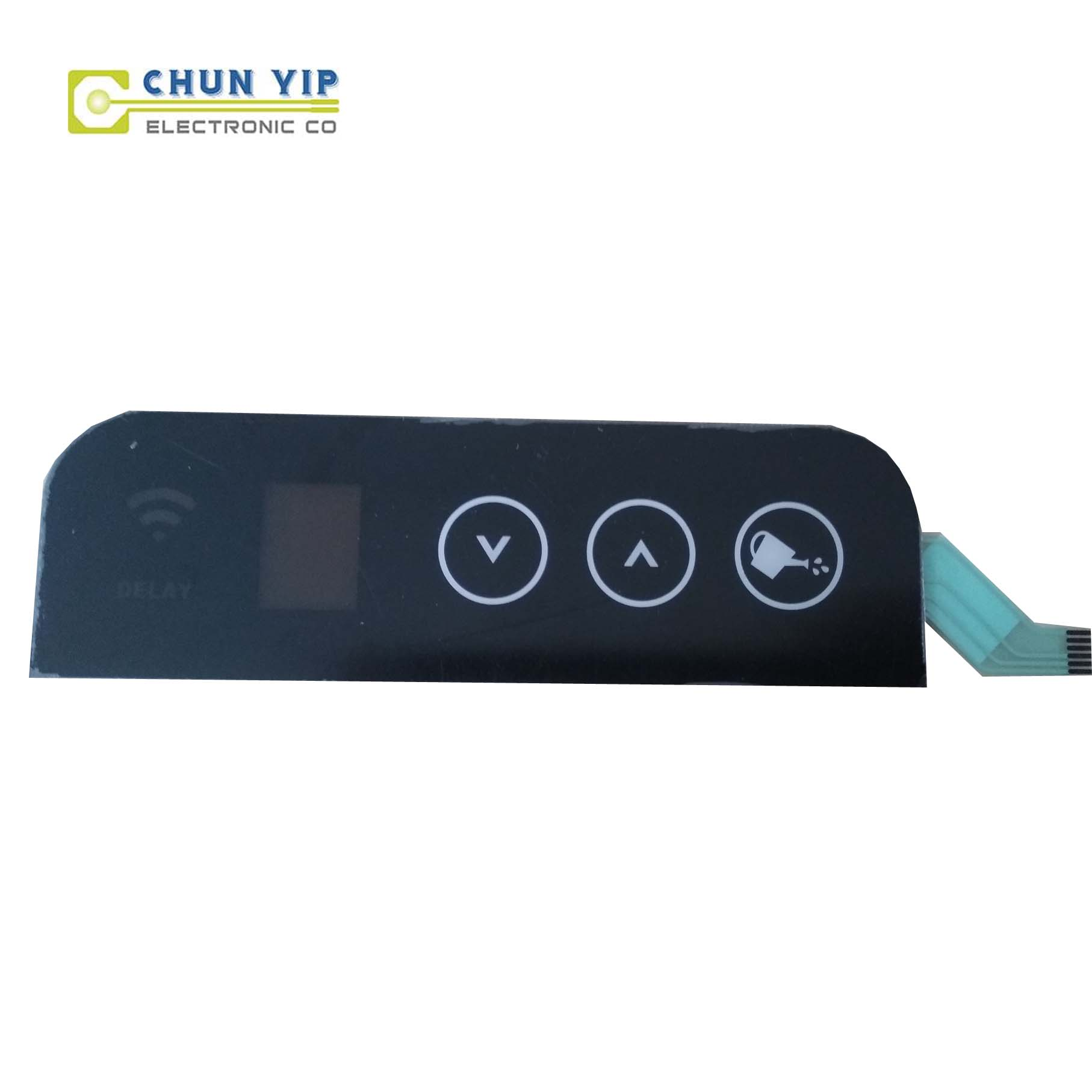 Corrugated Pre-Painted Steel Plate Membrane Switches Control -