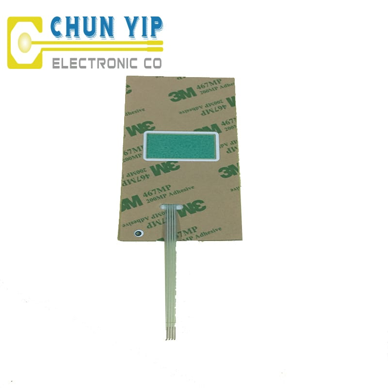 Color Coated Aluminum Coil Metal Dome Membrane Keypad -