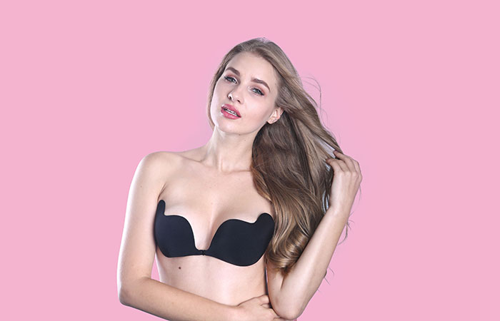 2017 China New Design Underwear C-String - Self Adhesive Backless Strapless Bra – Weiai Featured Image