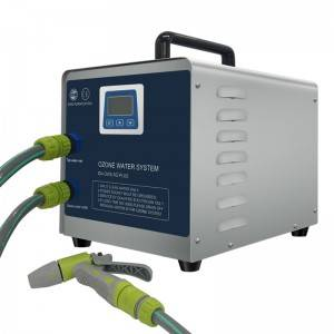 Portable ozone water system for laundry