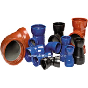 Wholesale En877 Standard Red Coated Grey Cast Iron Pipe Fittings -