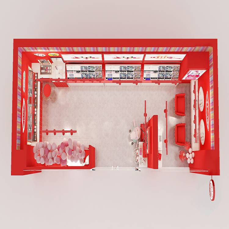 Fixed Competitive Price Glass Showcase Counter -