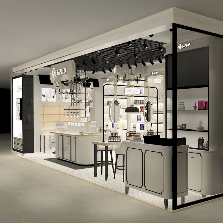 Good User Reputation for Cosmetic Shop Display -