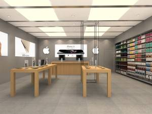 Professional retail design for kiosk store and retail display fixtures
