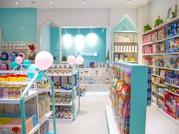 Franchise stores of baby clothing and toys