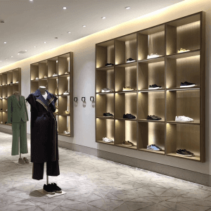 Chinese wholesale Glass Showcase -