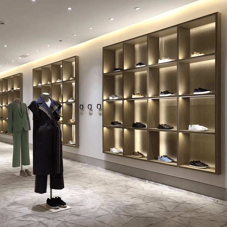 Renewable Design for Lighted Showcase -
