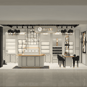 Professional retail shopfitters and makeup retail display shop interior design