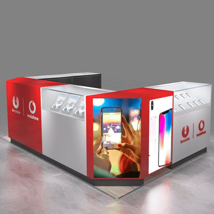 Factory made hot-sale Mobile Phone Shop Design -