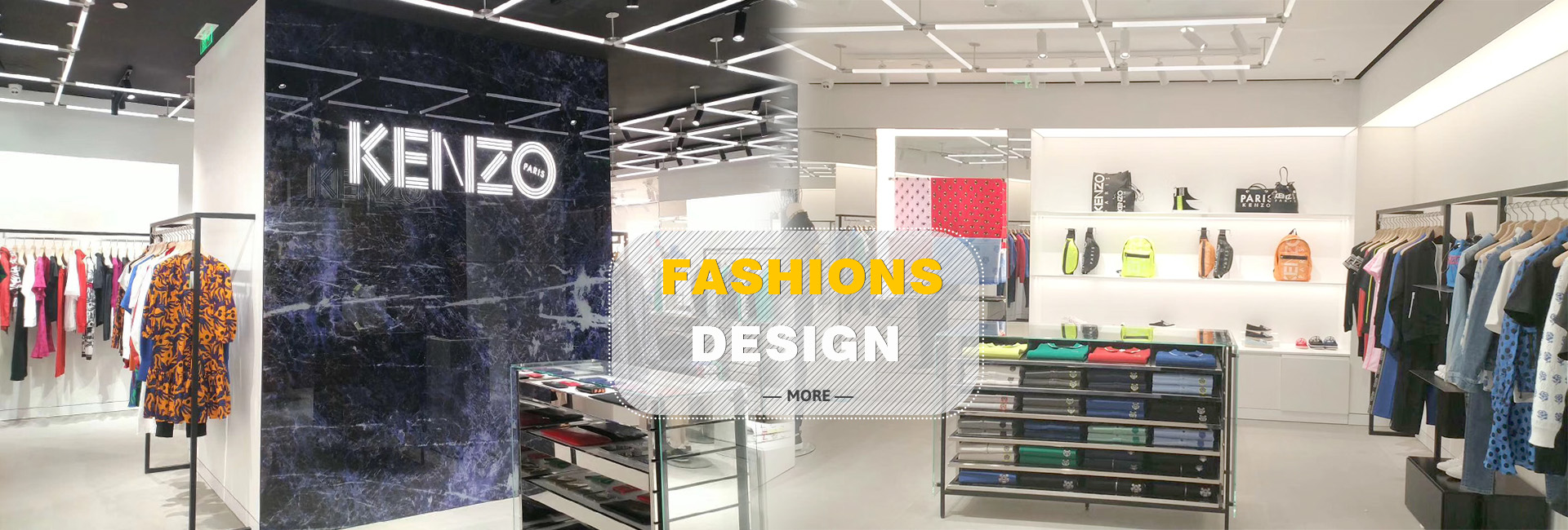 Weilin for Kenzo fixtures fitout