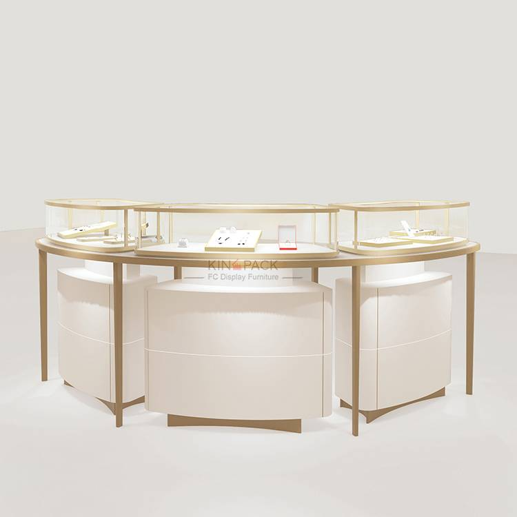 OEM/ODM Factory Jewelry Shop Mall Kiosk -