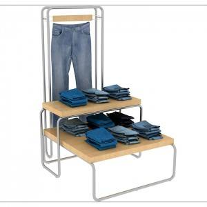 Online Exporter Makeup Counter Display -