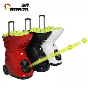 Electronic Ball Shooting Feeding Equipment Tennis Launcher Machine