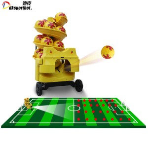 Football Training Machine Soccer Ball Shooter Equipment With Remote Control
