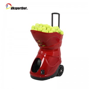 Tennis Ball Picking Device Throwing Machine For Shooting Training