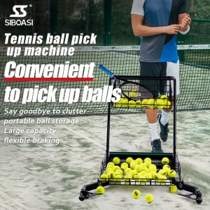 D01 Tennis Ball Pick Up Machine