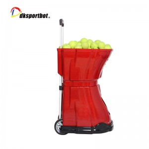 Dksportbot Tennis Ball Machine in Action