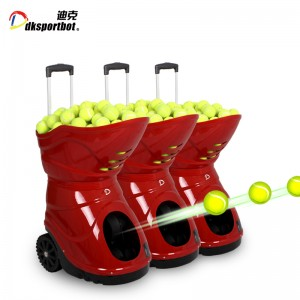 Automatic Sports Equipment Factory Tennis Ball Training Feeder Machine