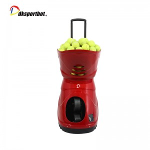 Mutifunction Tennis Ball Shooter Supplier with Battery Intelligent