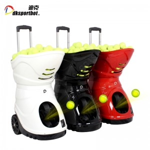 Smart Tennis Ball Training Shooter Machine For Throwing Practice Partner