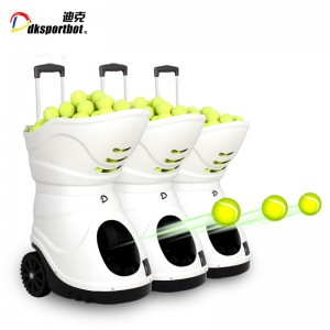 Intelligent Sports Training Partner Machine Tennis Ball Shooter For Feeding