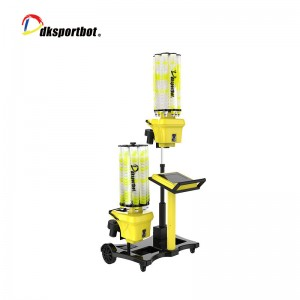 DB8 Double Head Badminton Throwing Machine