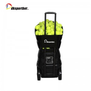 Portable Tennis ball Training Machine With Battery for sale