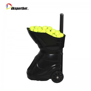 Smart Automatic Tennis Ball Training Machine With Battery Manufacturer