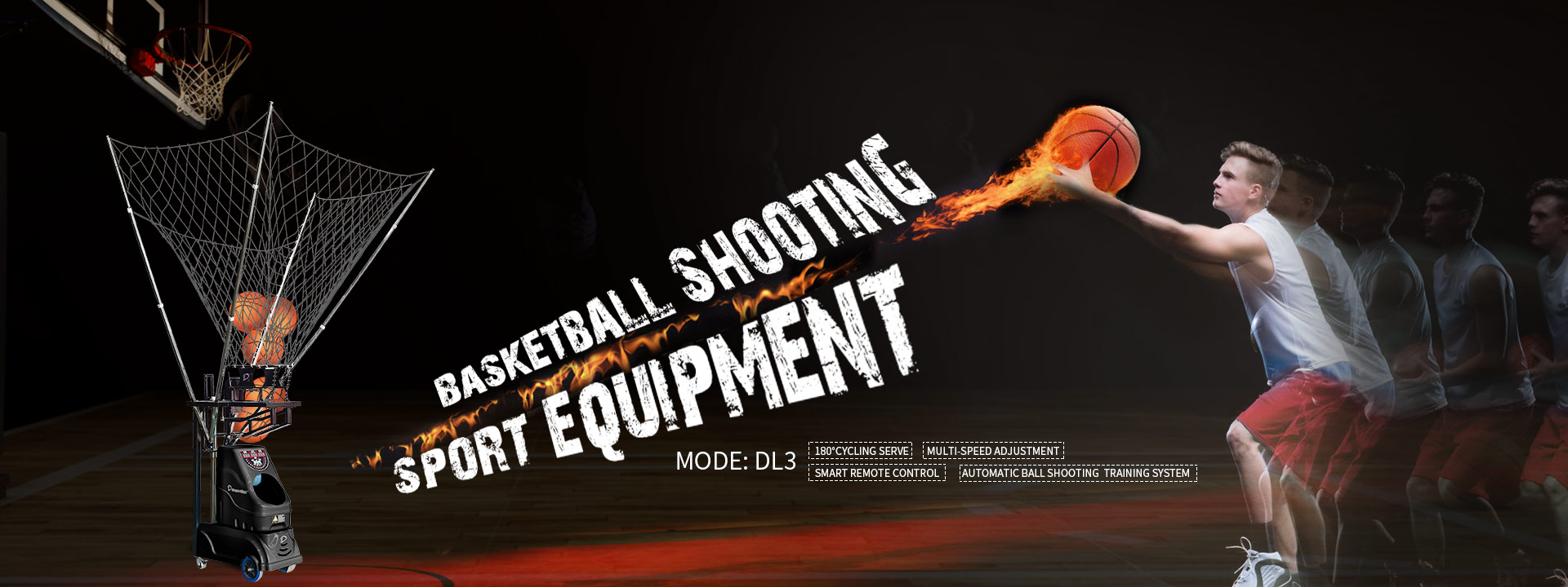 dksportbot basketball rebound shooting training machine for throwing feeding