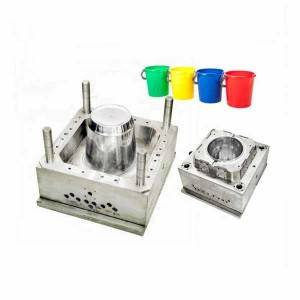 ABS Plastic Bucket Product Injection Mould for Plastic Bucket