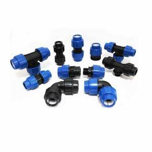 Plastic Fittings Compression Pipe Connector Manufacturer