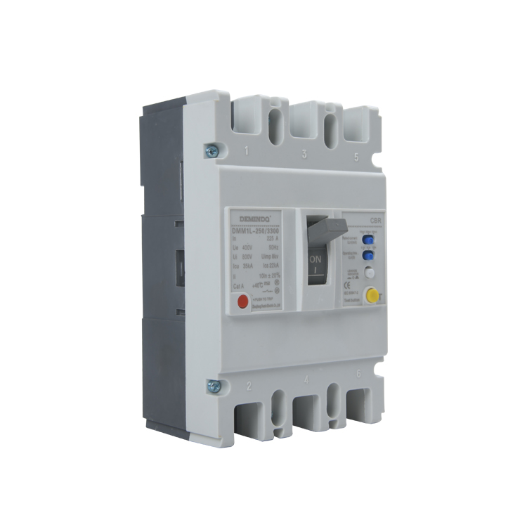 Manufacturing Companies for Solar Pv Ac Circuit Breakers - Hot Sale Current Adjustable Molded Case Mccb new Mccb – Molded Case Circuit Breaker – Demin