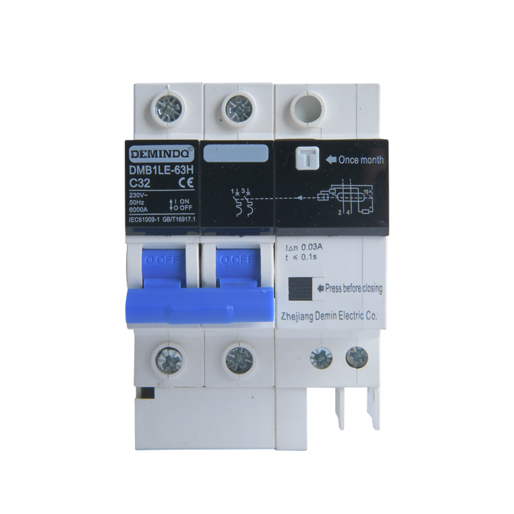 DMB1LE-63H C32   Miniature Circuit Breaker earth leakage circuit breaker