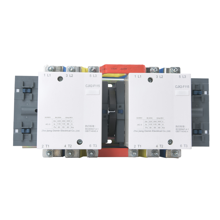 CJX2  3 pole High Quality ac electric  contactor