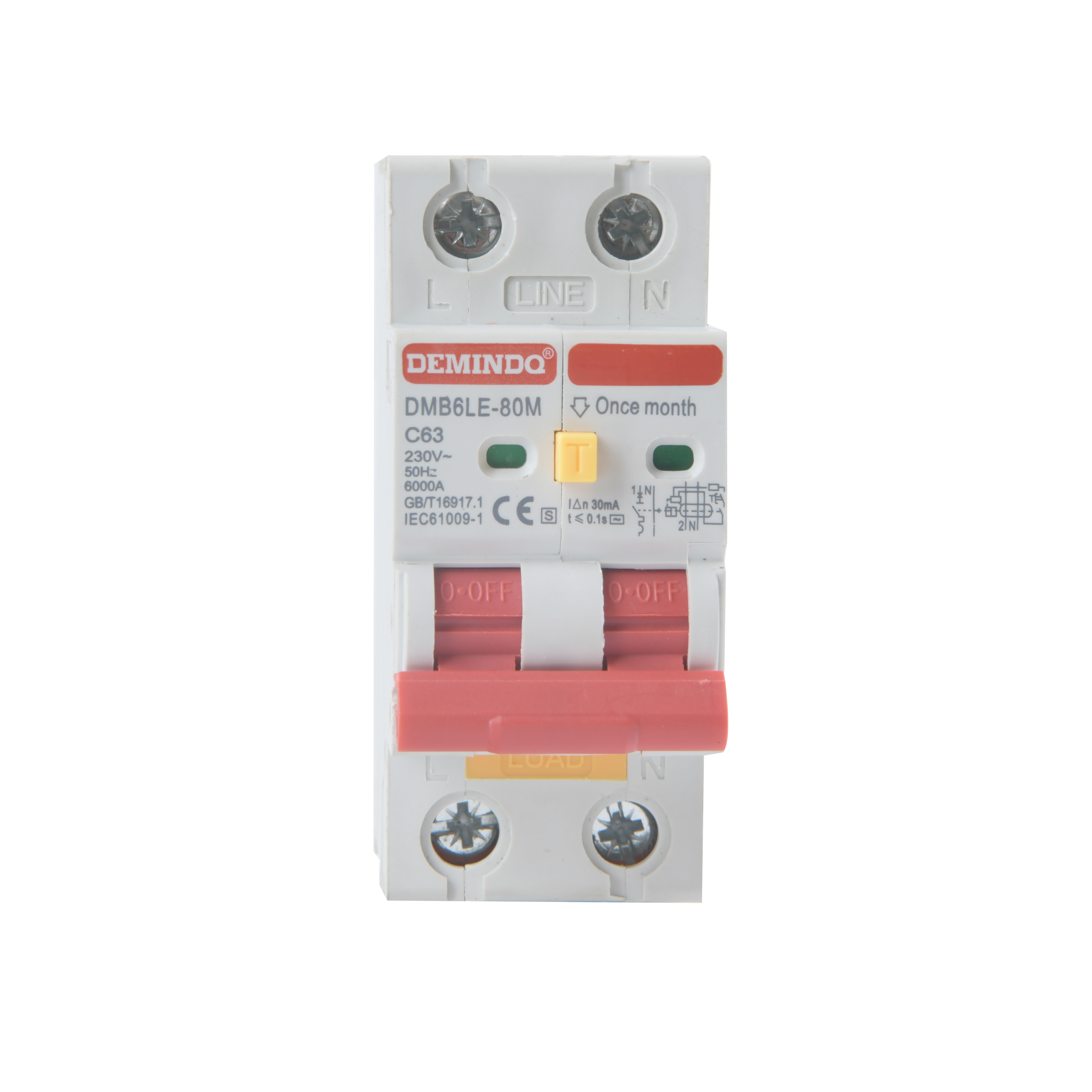 Fast delivery Single Phase Circuit Breaker - low current circuit breaker electronic circuit breaker the circuit breaker – Demin