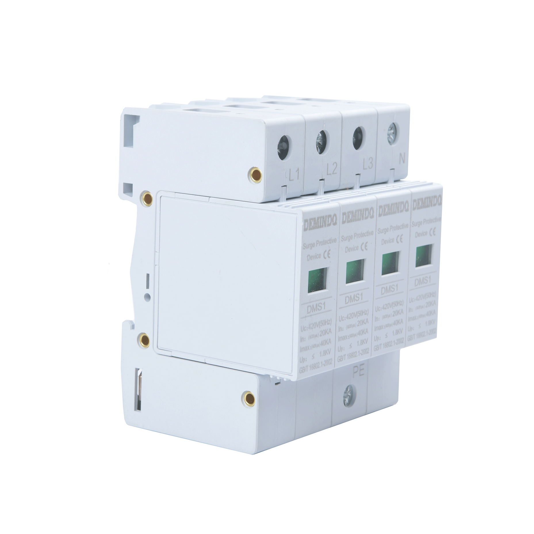 385v Ac Power Surge Protection Three Phase Surge Protection Device
