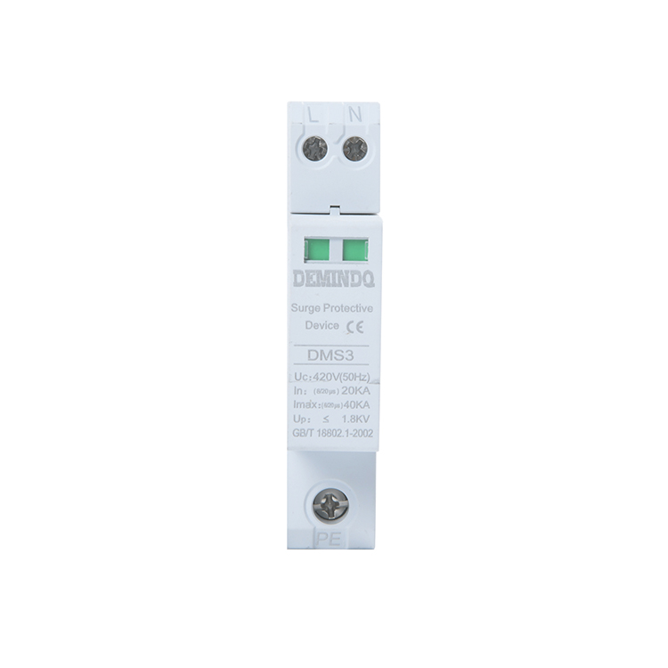 Cheap price Network Surge Protection - 1P 2P 3P 4P 420V 20kA Surge protective device – Demin