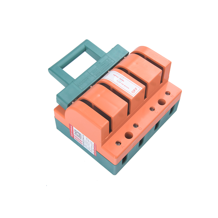 High quality32a / 63A / 100A / 220A / 225A disconnector შეცვლა