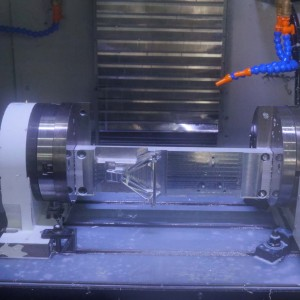 High precision CNC machining component