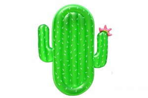 Inflatable Cactus Pool Float Raft Outdoor Swimming Pool Inflatable Float Giant Pool Float Cute Shaped Floating Row Summer Party Beach Holiday for Adult & Kids