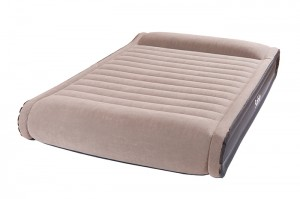 Air Mattress medium double inflatable bed ,built -in electric pump and storage bag design,comfortable and convenient.